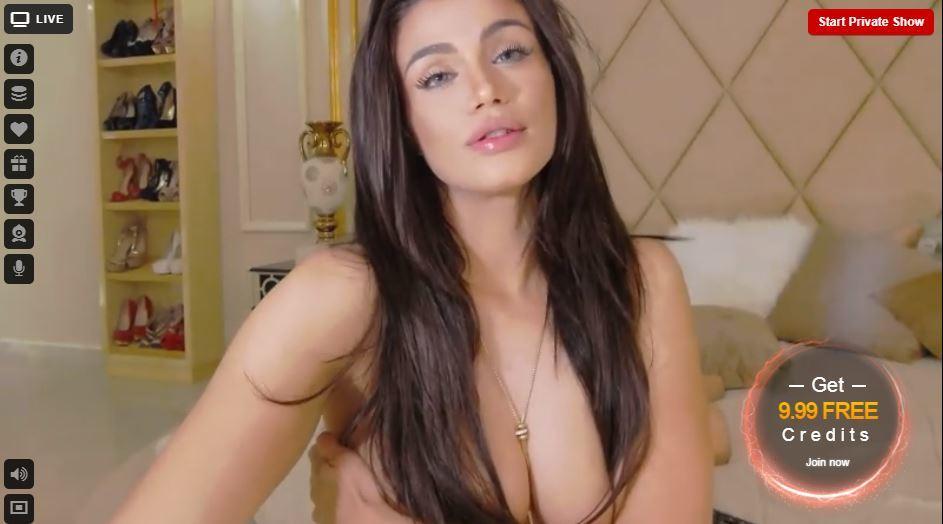 Webcam girl di LiveJasmin