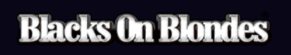 Blacks on Blondes logo