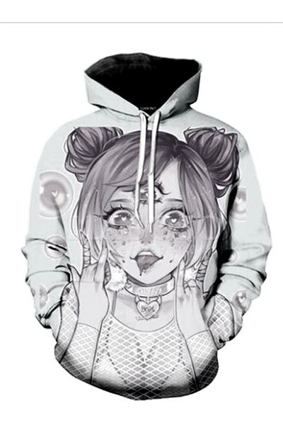 Ahegao hoodie